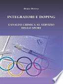 Integratori e Doping  L   analisi chimica al servizio dello sport