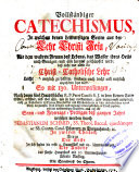 Vollständiger Catechismus