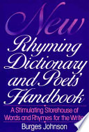 New Rhyming Dictionary and Poets  Handbook