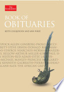 Book Of Obituaries