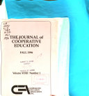 Journal of Cooperative Education