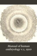 Manual Of Human Embryology