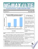 Wimax Monthly Newsletter November 2010