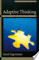 Adaptive Thinking : why do social scientists perform mindless...