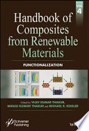 Handbook of Composites from Renewable Materials  Functionalization