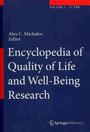 Encyclopedia of Quality of Life and Well Being Research