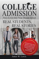 College Admission How to Get Into Your Dream School Book PDF