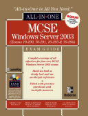 Mcse Windows Server 2003 All In One Exam Guide Exams 70 290 70 291 70 293 70 294