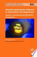 Deutsch afrikanische Diskurse in Geschichte und Gegenwart
