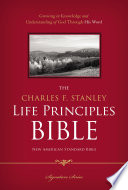 NASB  The Charles F  Stanley Life Principles Bible  eBook