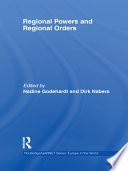 Regional Orders and Regional Powers