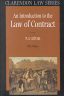 An Introduction to the Law of Contract