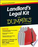 Landlord s Legal Kit For Dummies