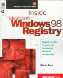 Inside the Microsoft Windows 98 Registry