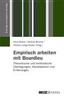 Empirisch arbeiten mit Bourdieu
