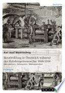 Berufsbildung in Österreich während der Habsburgermonarchie 1848-1918