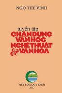 Chan Dung Van Hoc Nghe Thuat and Van Hoa (full Color Version)
