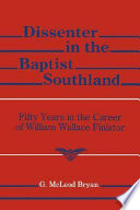 Dissenter In The Baptist Southland