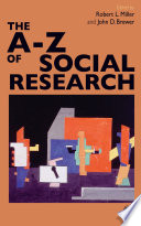 The A Z of Social Research