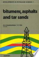 Bitumens Asphalts And Tar Sands book