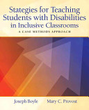 Strategies for Teaching Students with Disabilities in Inclusive Classrooms