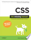 CSS: The Missing Manual
