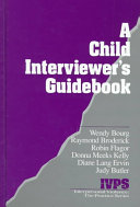 A Child Interviewer S Guide
