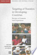 Targeting of Transfers in Developing Countries