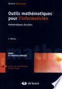 illustration du livre Outils mathématiques pour l'informaticien