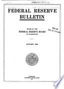 Federal Reserve Bulletin Book PDF