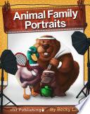 Animal Family Portraits A Black Bear? A Panda
