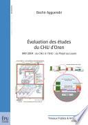 Evaluation des   tudes du CHU d Oran