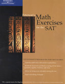 Peterson's Math Exercises for the SAT