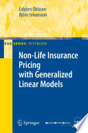 Non Life Insurance Pricing with Generalized Linear Models