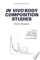 In Vivo Body Composition Studies
