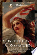 Constitutional Conservatism : share, or should share, and...