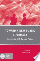 Toward a New Public Diplomacy