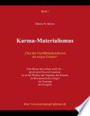 Karma-Materialismus