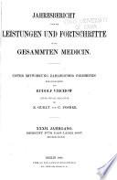 Jahresbericht   ber die leistungen und fortschritte in der gesammten medicin