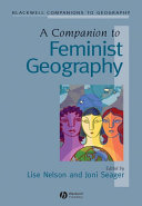 A Companion to Feminist Geography