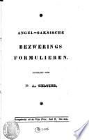 Angel Saksische Bezwerings Formulieren