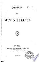 Opere di Silvio Pellico