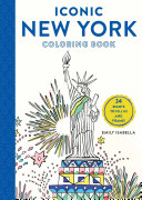Iconic New York Coloring Book