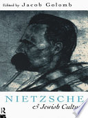 Nietzsche and Jewish Culture Of Ideas He Came Up With