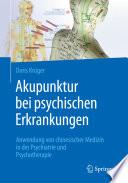 Akupunktur bei psychischen Erkrankungen