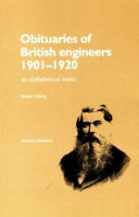 Obituaries of British Engineers 1901-1920