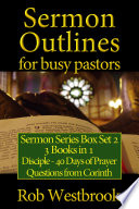 Sermon Outlines For Busy Pastors Sermon Series Box Set 2