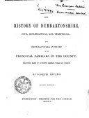 Book The History of Dumbartonshire, Civil, Ecclesiastical, and Territorial