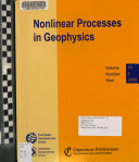 Nonlinear Processes in Geophysics
