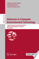 Advances in Computer Entertainment Technology
